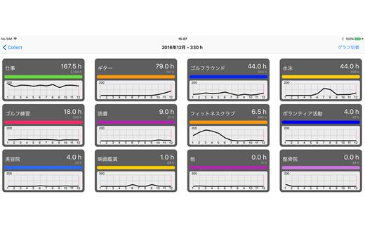 カレンダー集計アプリ